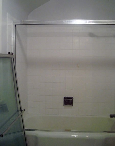 Diy plumbing bathtub door removal making it up for Diy bathroom demolition