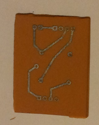 DIY PCB after etching
