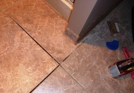 Bathroom tile repair update making it up - Update bathroom tile without replacing ...