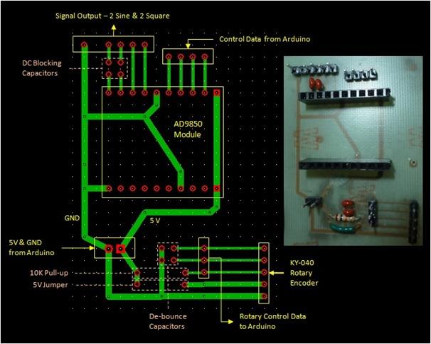 Signal Generator printed circuit board