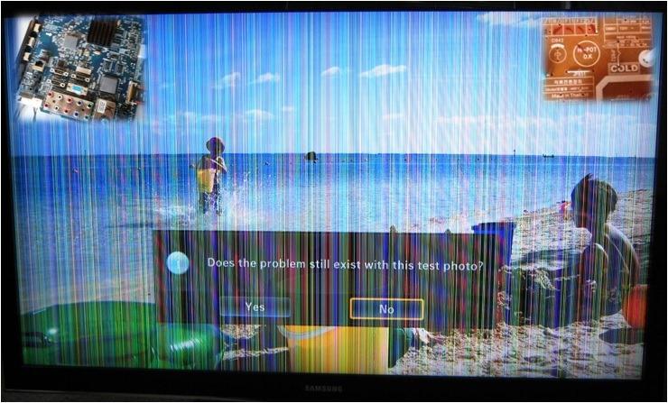 Samsung TV DIY Repair - Making It Up