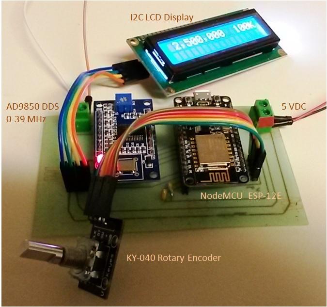 nodemcu signal generator