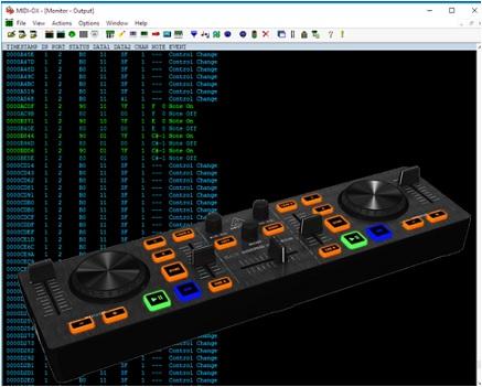 midi dj controller enhanced sdr panel making it up. Black Bedroom Furniture Sets. Home Design Ideas