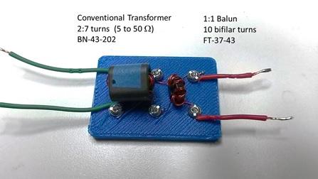 impedance matching test jig