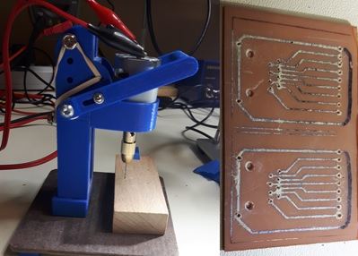 Miniature Drill Press for Printed Circuit Boards - Making It Up